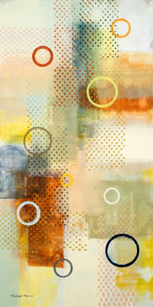 konfigurieren des Kunstdrucks in Wunschgröße Floating Forms I von Marcon, Michael