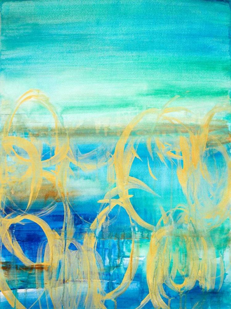 konfigurieren des Kunstdrucks in Wunschgröße Caught up in the Wind I von Loreth, Lanie