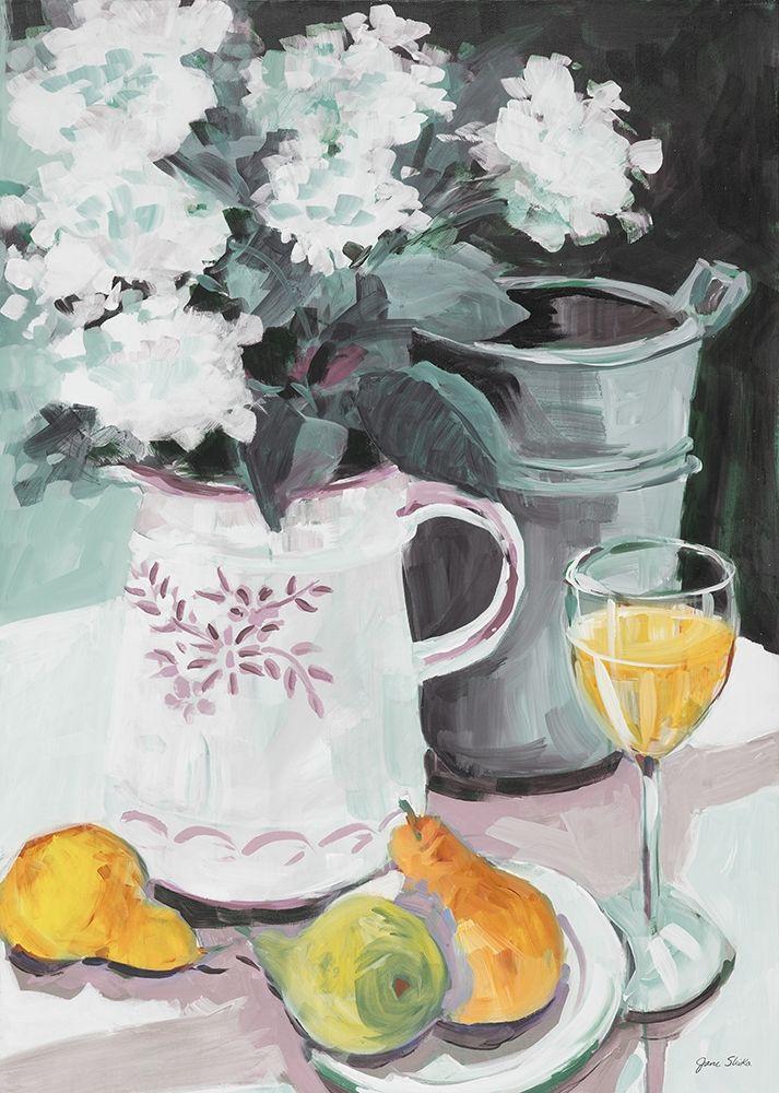 konfigurieren des Kunstdrucks in Wunschgröße Pitcher of Flowers von Slivka, Jane