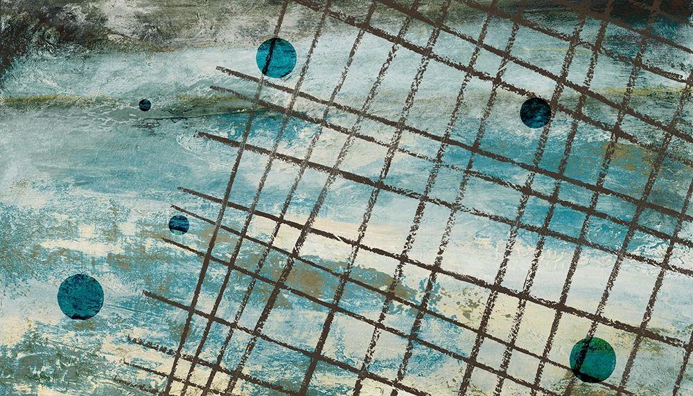 konfigurieren des Kunstdrucks in Wunschgröße Return to the Blue Abstract II von Marcon, Michael