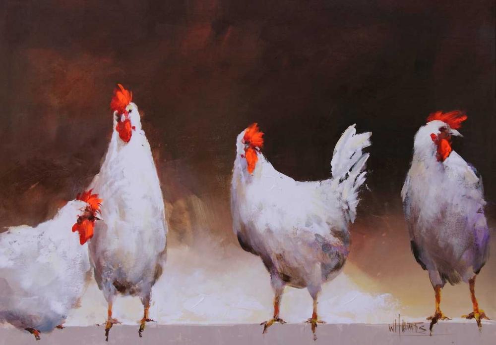 Chicken I von Haenraets, Willem <br> max. 69 x 48cm <br> Preis: ab 10€
