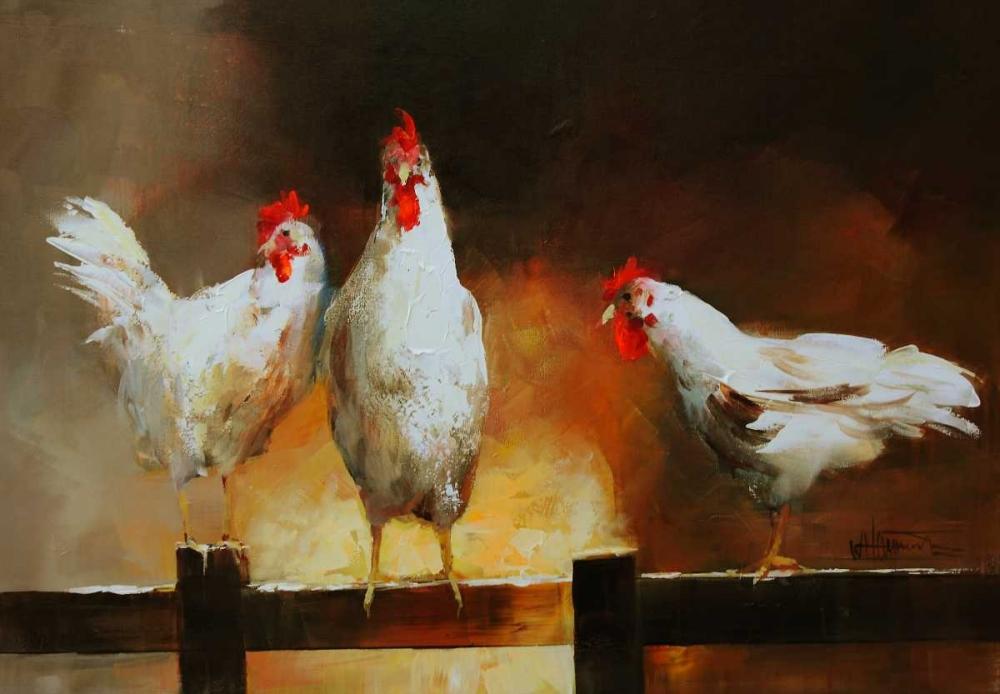 Chicken II von Haenraets, Willem <br> max. 64 x 43cm <br> Preis: ab 10€
