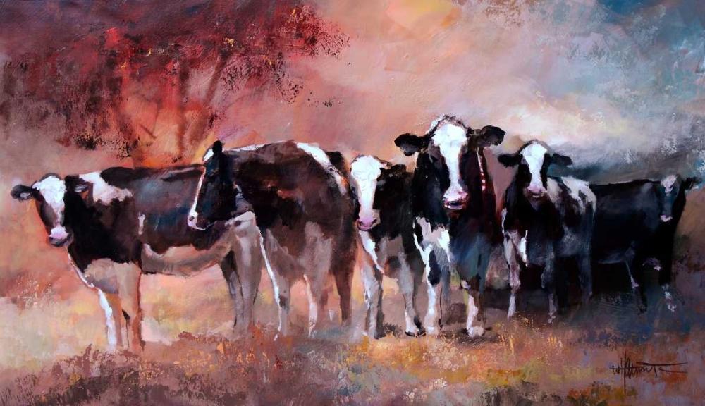 Cows von Haenraets, Willem <br> max. 76 x 43cm <br> Preis: ab 10€