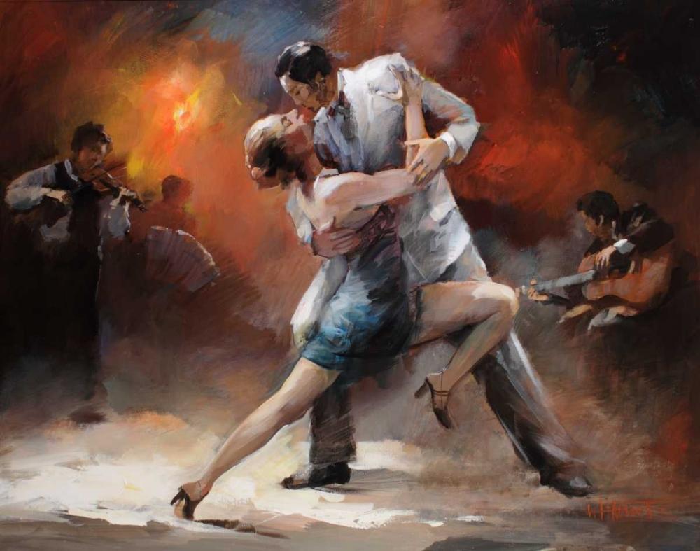 Tango Argentino IV von Haenraets, Willem <br> max. 58 x 46cm <br> Preis: ab 10€