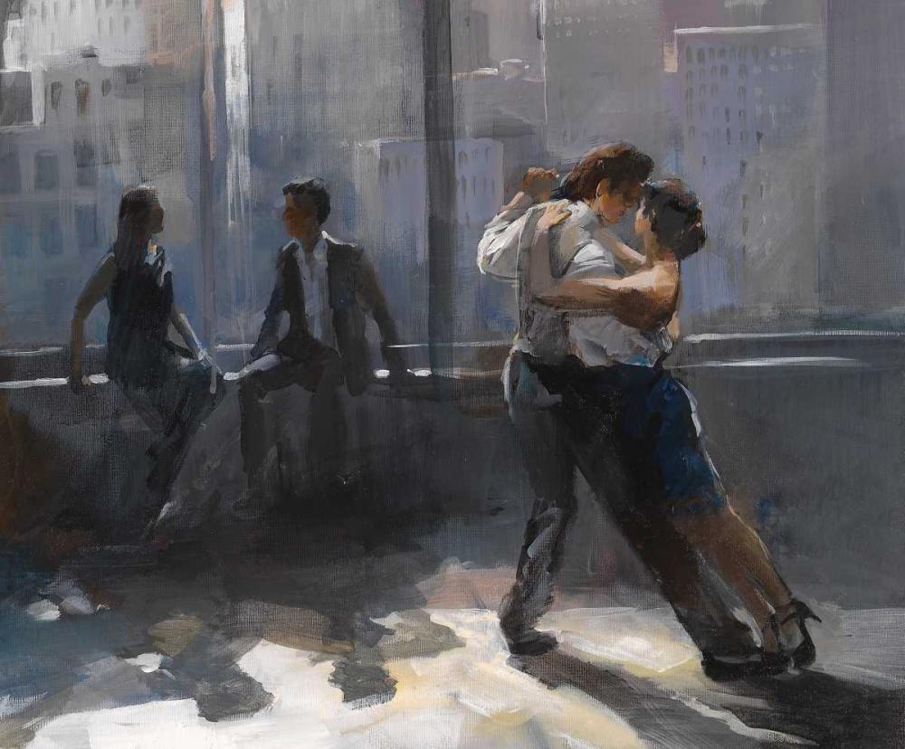 Tango Argnetino V von Haenraets, Willem <br> max. 53 x 43cm <br> Preis: ab 10€