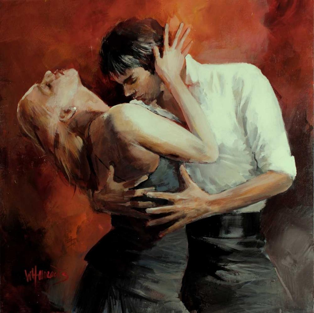 Tango Passion von Haenraets, Willem <br> max. 48 x 48cm <br> Preis: ab 10€