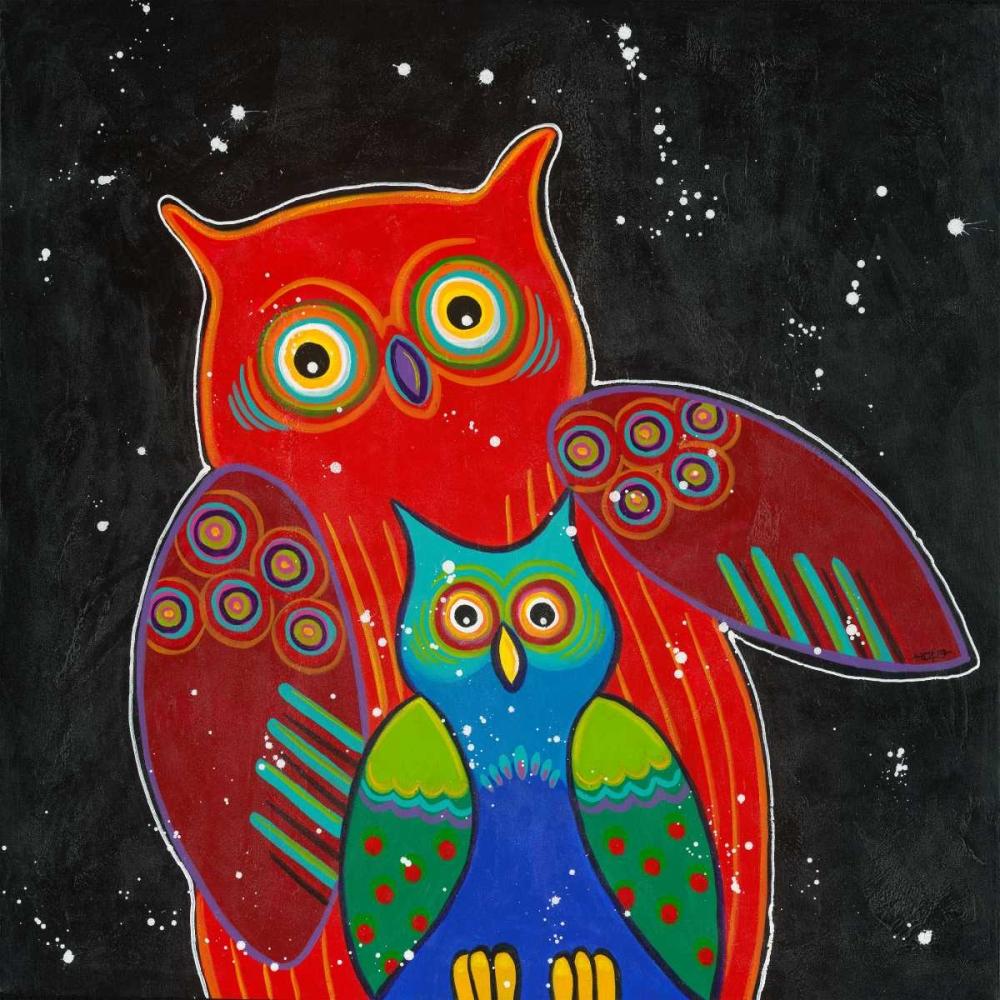 Funny Owl I von Hope <br> max. 135 x 135cm <br> Preis: ab 10€