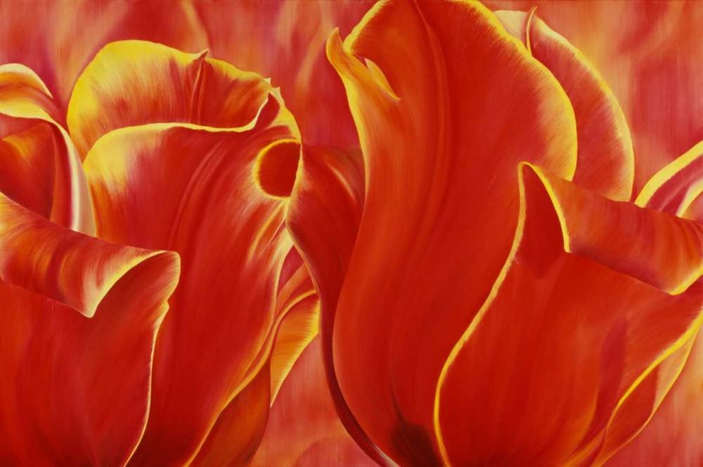 konfigurieren des Kunstdrucks in Wunschgröße Party Tulip II von Poelstra-Holzhaus, Yvonne