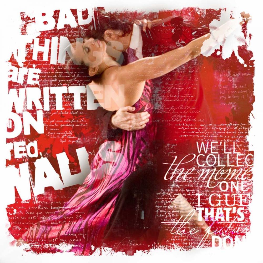 konfigurieren des Kunstdrucks in Wunschgröße Dance I von Baker, Micha