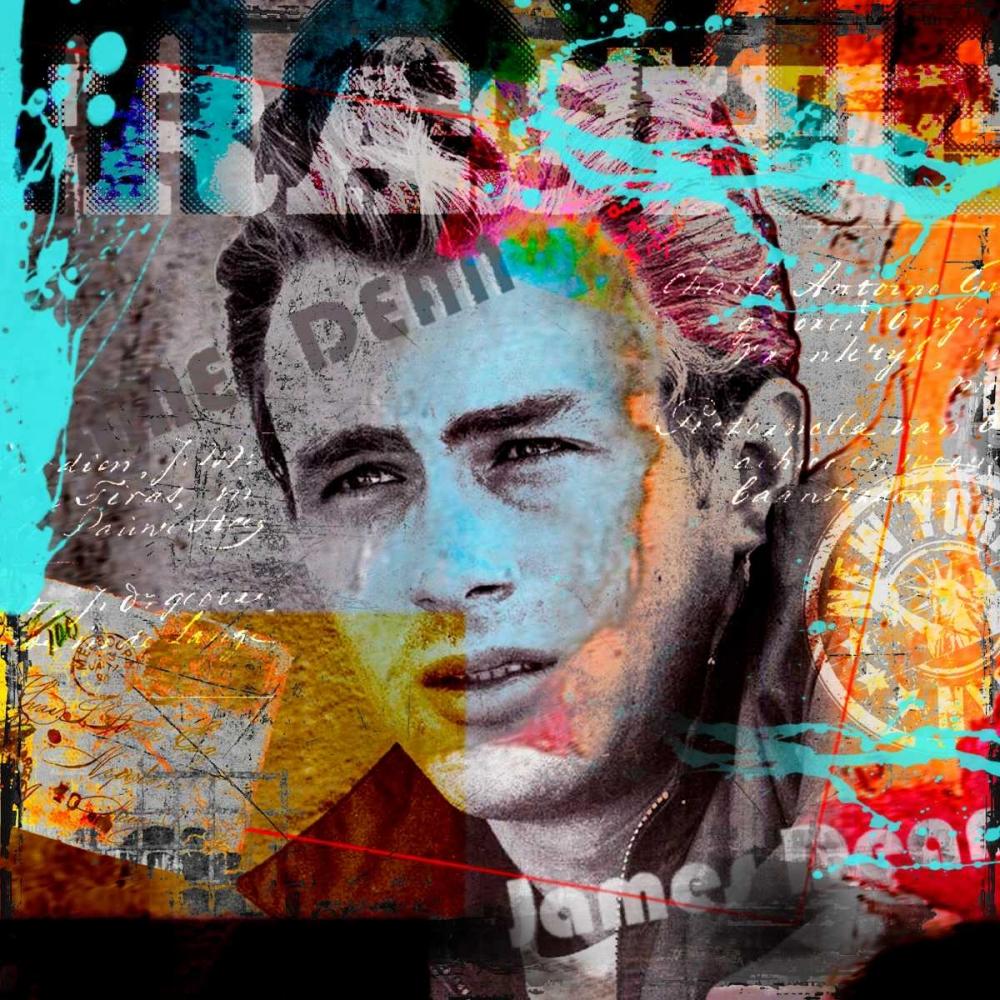 konfigurieren des Kunstdrucks in Wunschgröße James Dean von Baker, Micha