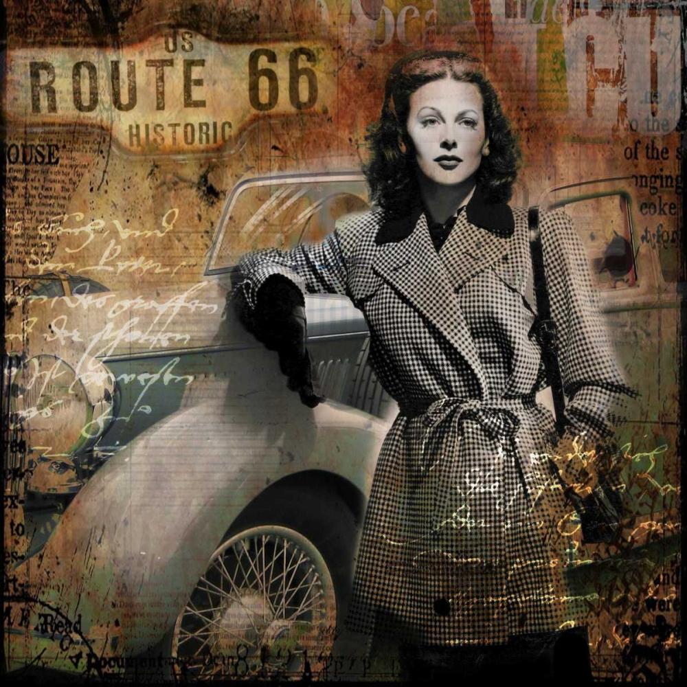 konfigurieren des Kunstdrucks in Wunschgröße Route 66 von Baker, Micha