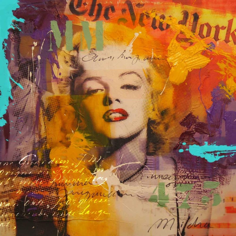 konfigurieren des Kunstdrucks in Wunschgröße Marilyn III von Baker, Micha