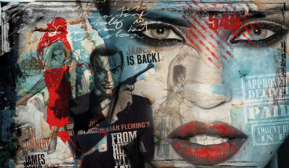 konfigurieren des Kunstdrucks in Wunschgröße James 007 von Baker, Micha
