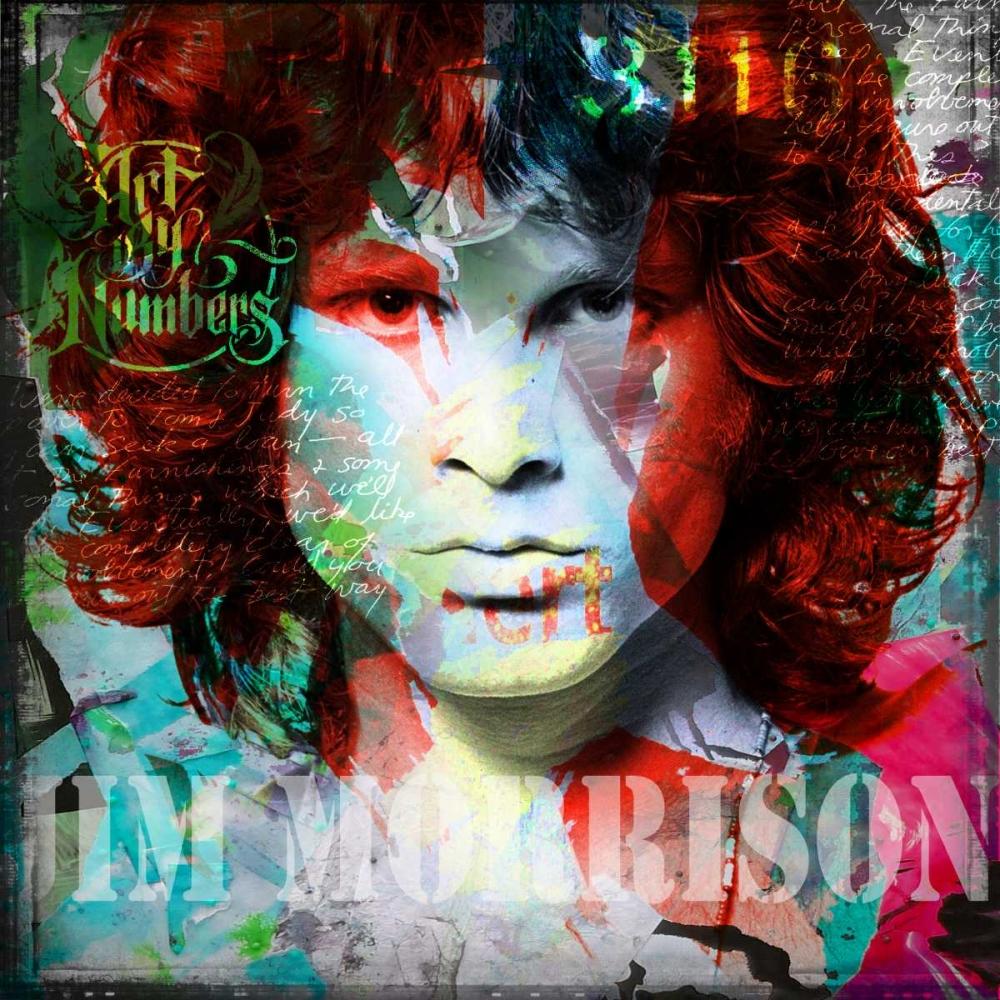 konfigurieren des Kunstdrucks in Wunschgröße Jim Morrison von Baker, Micha