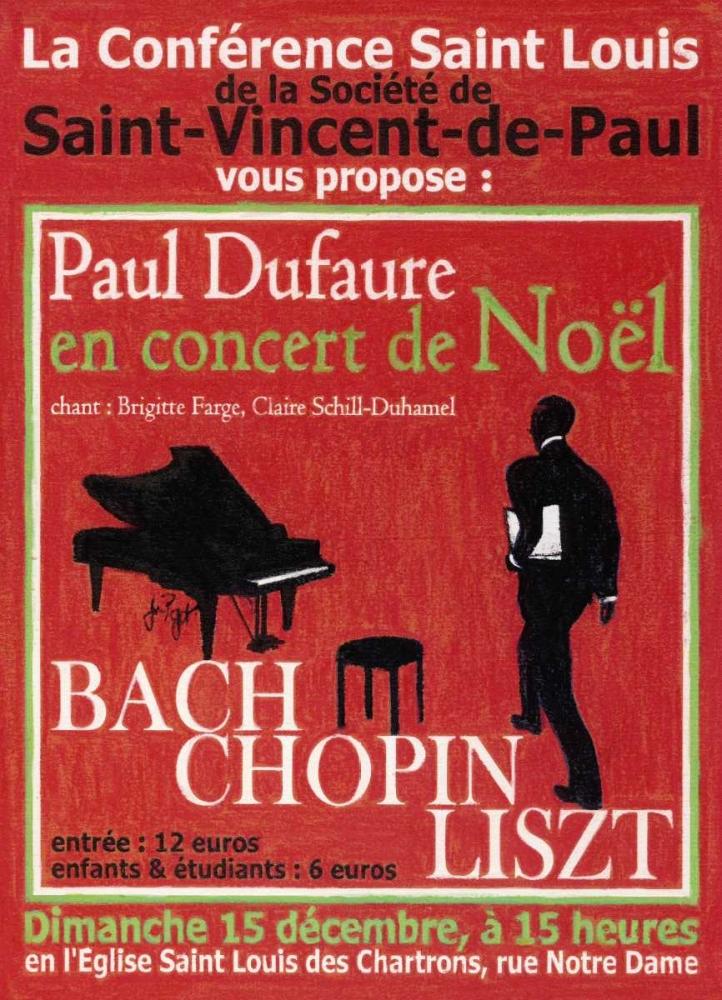 konfigurieren des Kunstdrucks in Wunschgröße Concert the NoÃ«l von Got, Jean Pierre