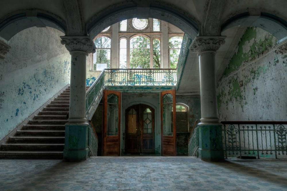 konfigurieren des Kunstdrucks in Wunschgröße Beelitz sanatorium von Sneeuw, Ivo