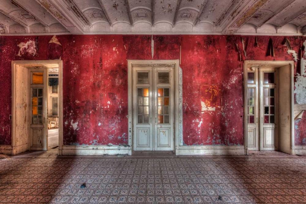 konfigurieren des Kunstdrucks in Wunschgröße Hotel Rouge II von Sneeuw, Ivo