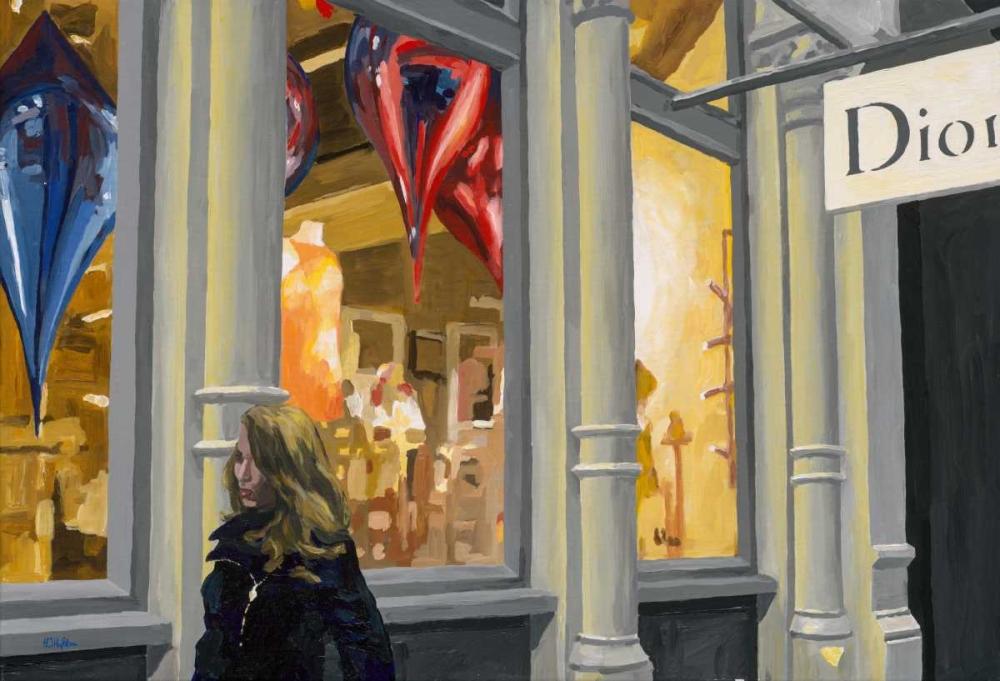 konfigurieren des Kunstdrucks in Wunschgröße Shopping von Hofstra,HJ