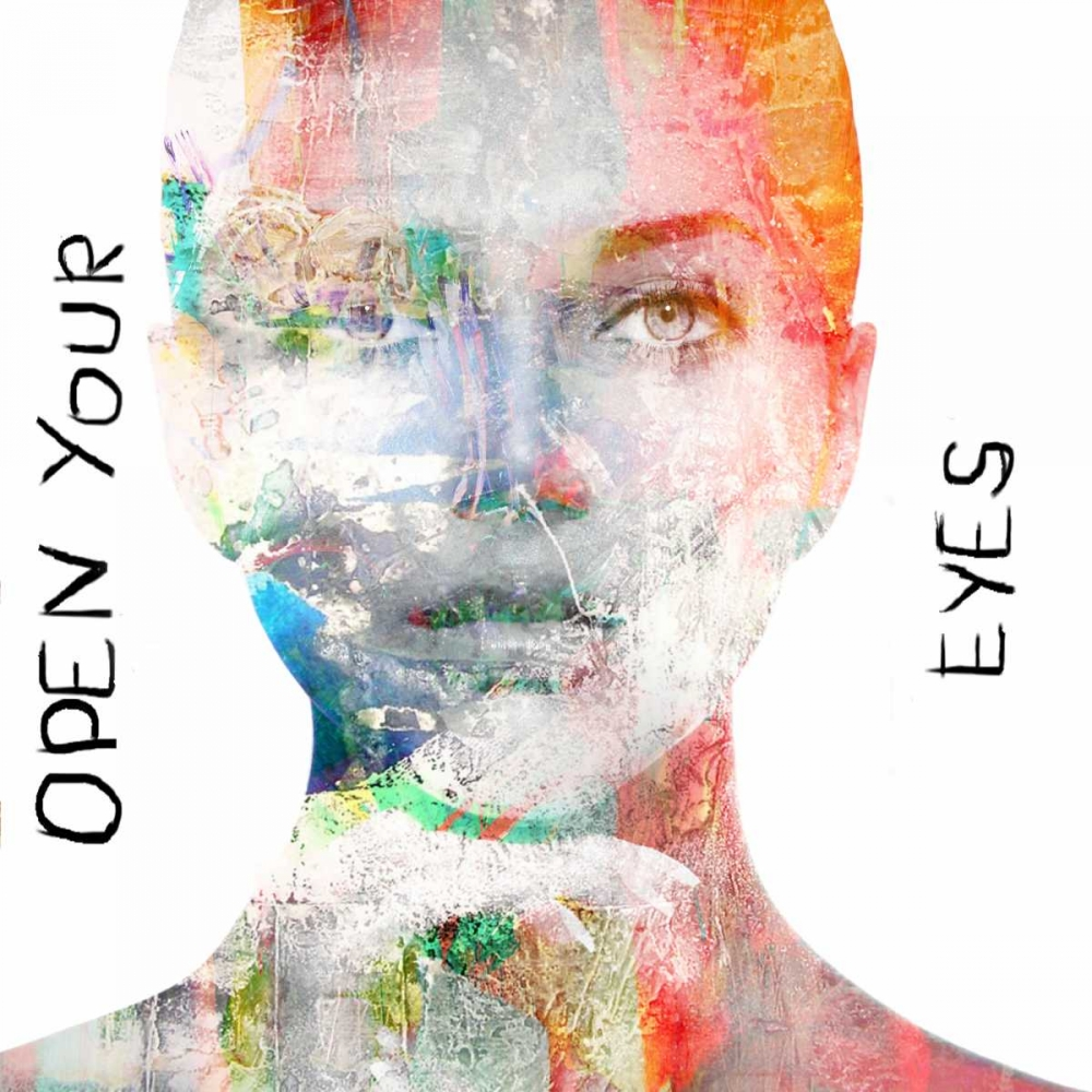 faces,pop,cult,mixed-media,photo,design,new,music,artist,European,Fashion,Photography,Contemporary,Decorative,GA01_00311,Open your Eyes,Baker, Micha,Square