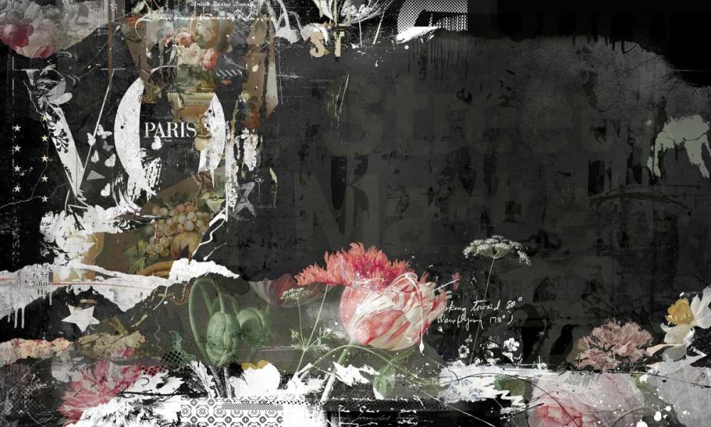 konfigurieren des Kunstdrucks in Wunschgröße les fleurs de Paris von Albers, Teis