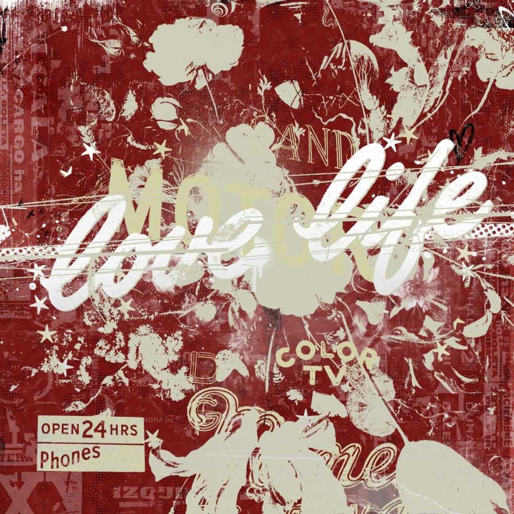 konfigurieren des Kunstdrucks in Wunschgröße Love life von Albers, Teis