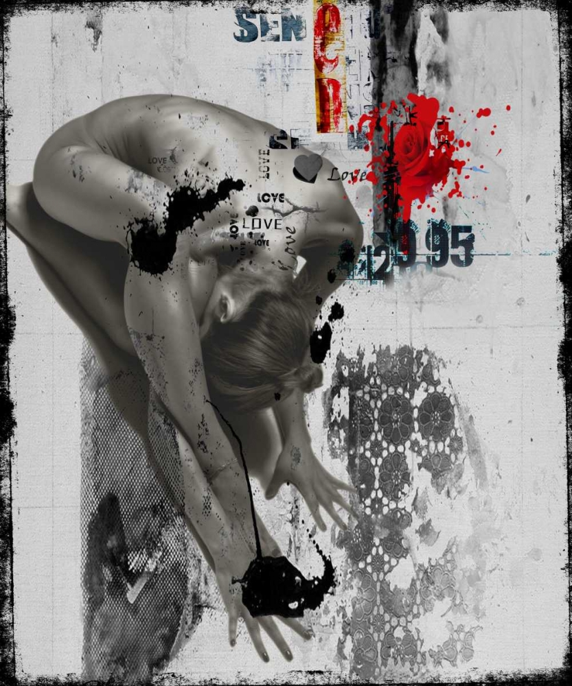 konfigurieren des Kunstdrucks in Wunschgröße Beauty nude I von Baker, Micha