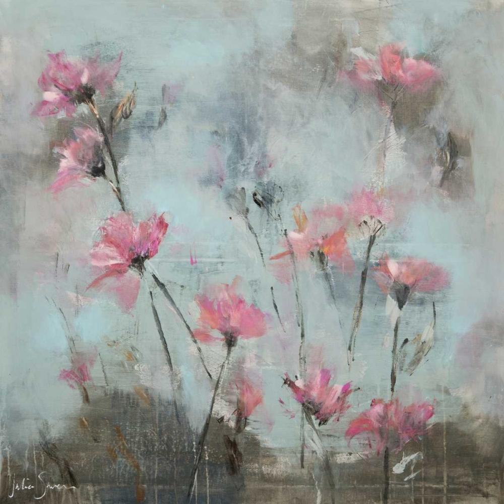 konfigurieren des Kunstdrucks in Wunschgröße Pink Flowers I von Simonis, Julia