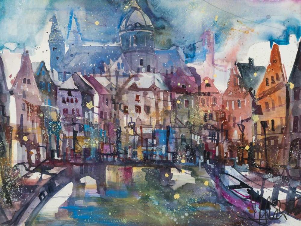 konfigurieren des Kunstdrucks in Wunschgröße Amsterdam von Mattern, Andreas