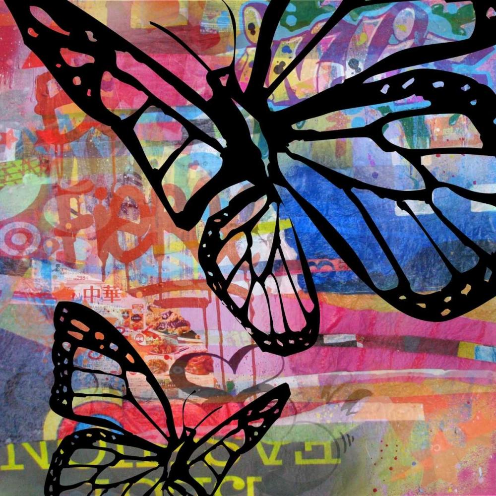 konfigurieren des Kunstdrucks in Wunschgröße Butterfly I von Baker, Micha
