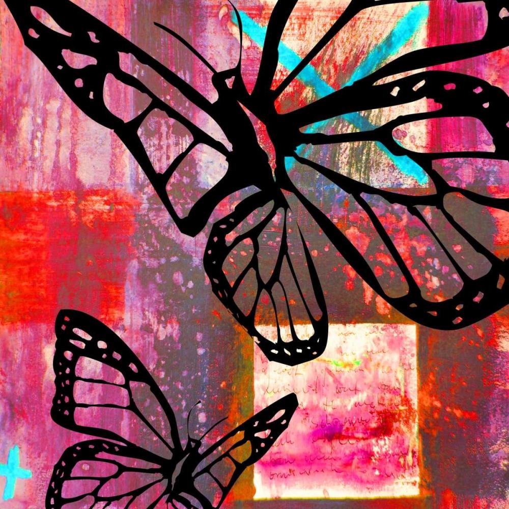 konfigurieren des Kunstdrucks in Wunschgröße Butterfly II von Baker, Micha