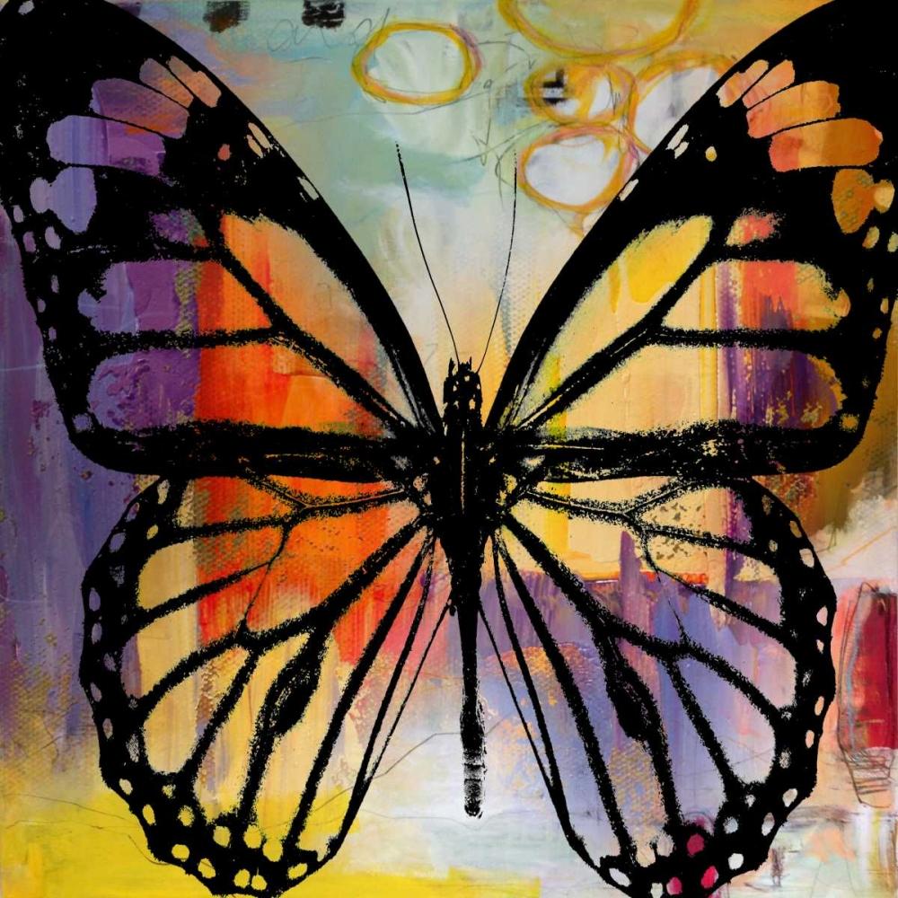 konfigurieren des Kunstdrucks in Wunschgröße Butterfly III von Baker, Micha