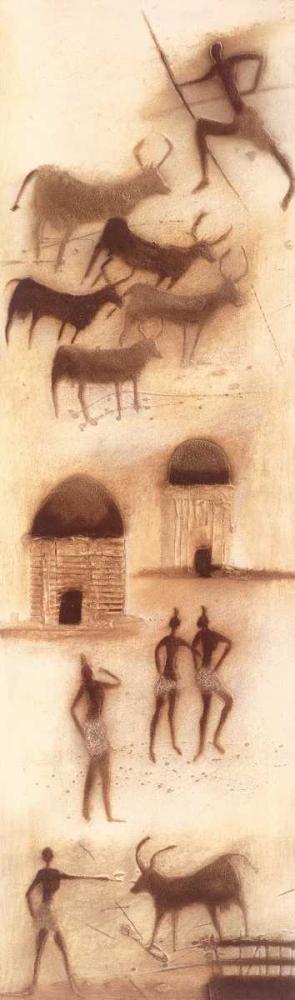 konfigurieren des Kunstdrucks in Wunschgröße African impression I von Jan, Eelse Noordhuis