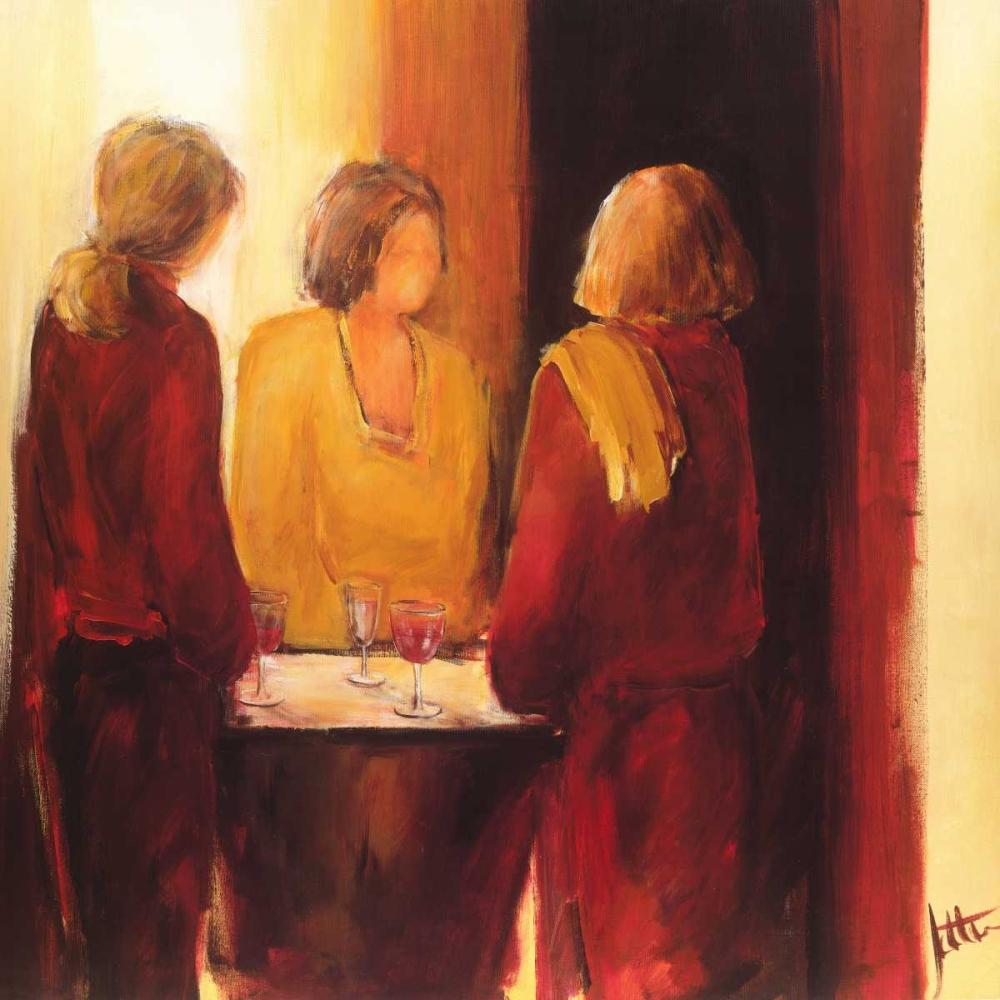 konfigurieren des Kunstdrucks in Wunschgröße Meeting place I von Roseboom, Jettie