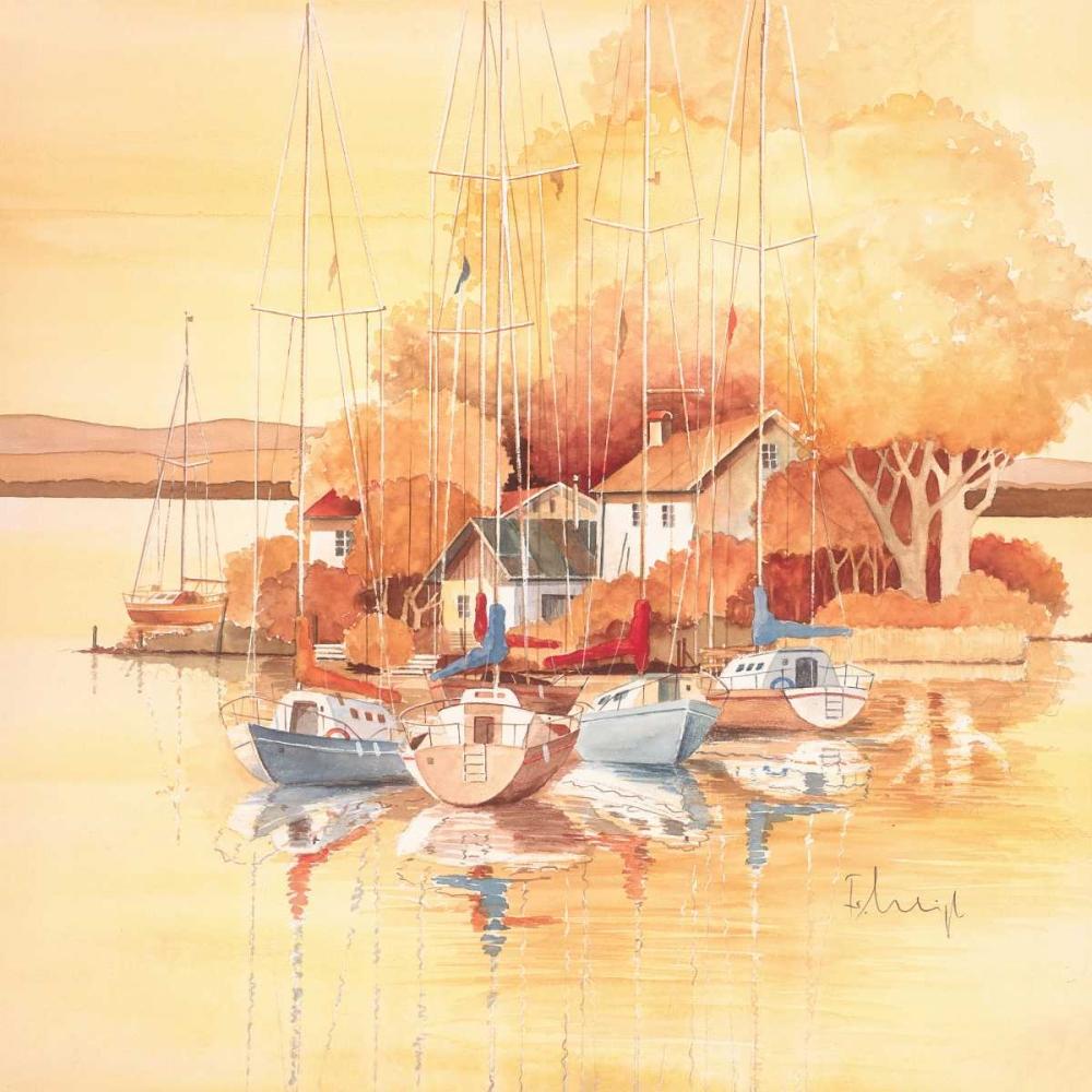 konfigurieren des Kunstdrucks in Wunschgröße Seaside I von Franz, Heigl