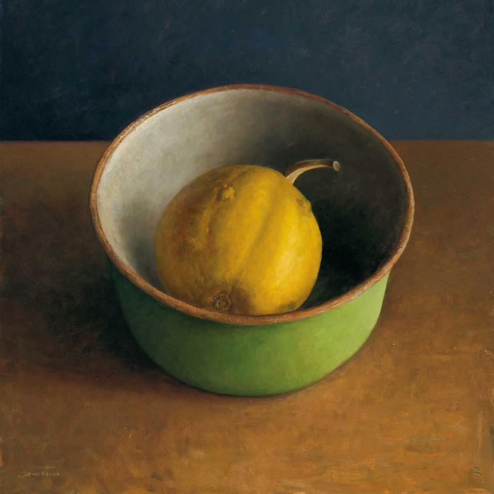 Green bowl I von van Riswick, Jos <br> max. 99 x 99cm <br> Preis: ab 10€