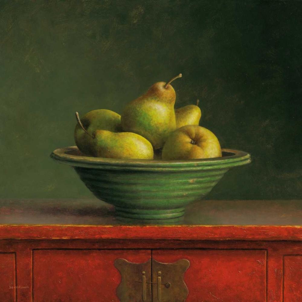 konfigurieren des Kunstdrucks in Wunschgröße Pears von van Riswick, Jos