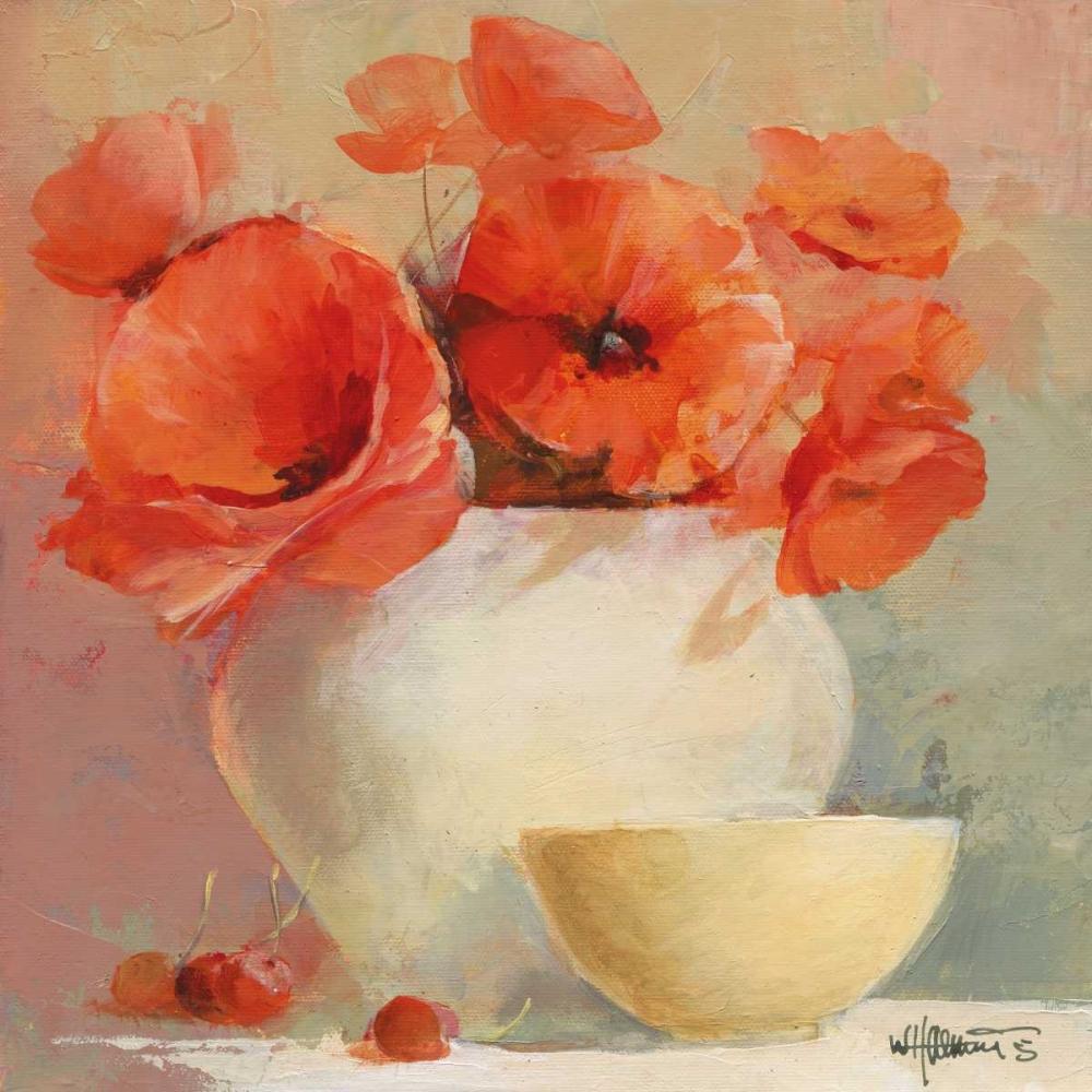 Lovely Poppies II von Haenraets, Willem <br> max. 135 x 135cm <br> Preis: ab 10€