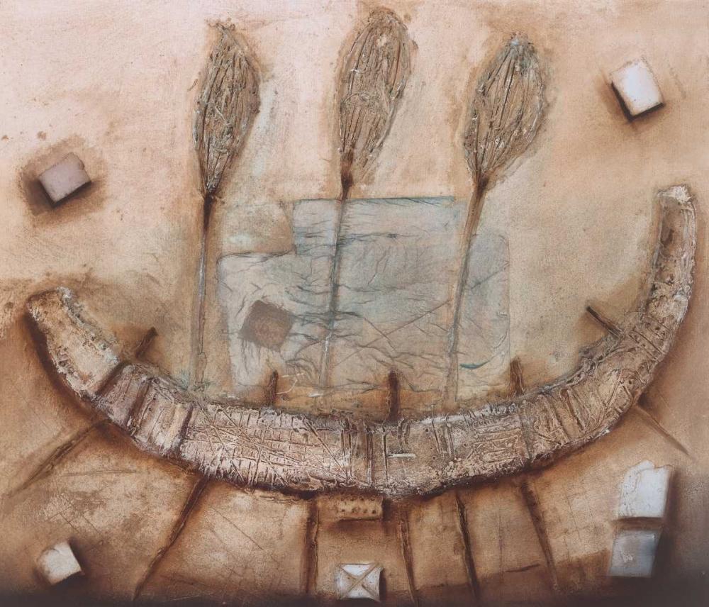 konfigurieren des Kunstdrucks in Wunschgröße Stoneage I von Noordhuis, Jan Eelse