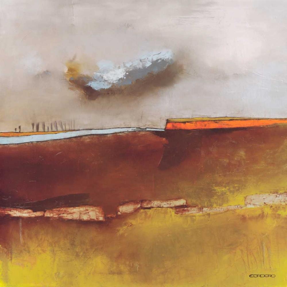 konfigurieren des Kunstdrucks in Wunschgröße Fascinating Landscape I von Cordaro, Emiliano