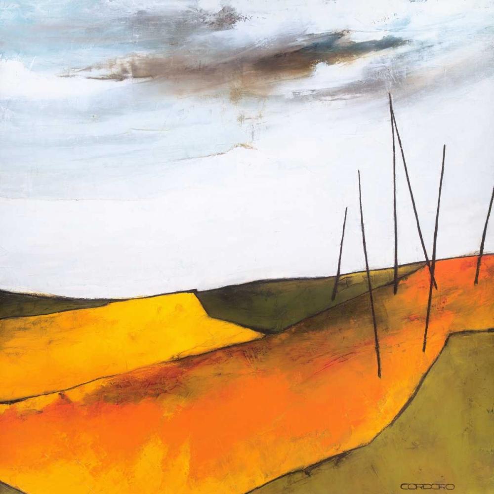 konfigurieren des Kunstdrucks in Wunschgröße Fascinating landscape VI von Einzelbilder