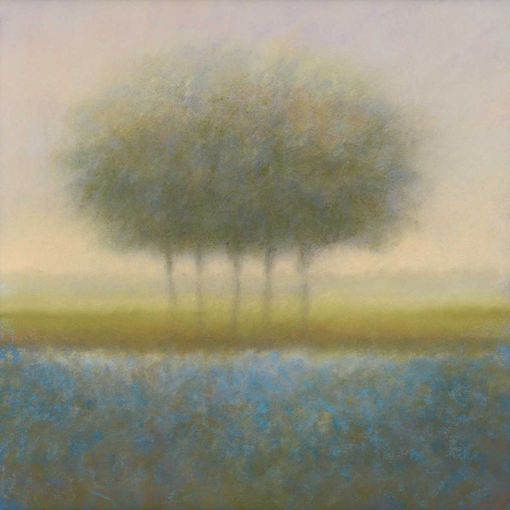 Blue group of trees von Dolieslager, Hans <br> max. 135 x 135cm <br> Preis: ab 10€