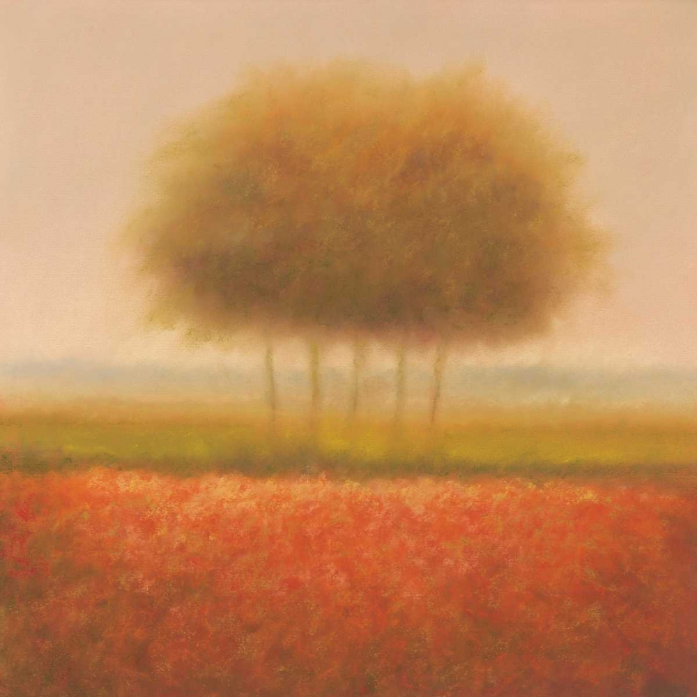Orange group of trees von Dolieslager, Hans <br> max. 135 x 135cm <br> Preis: ab 10€