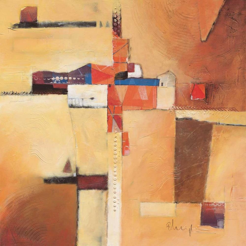 konfigurieren des Kunstdrucks in Wunschgröße Abstract I von Heigl, Franz