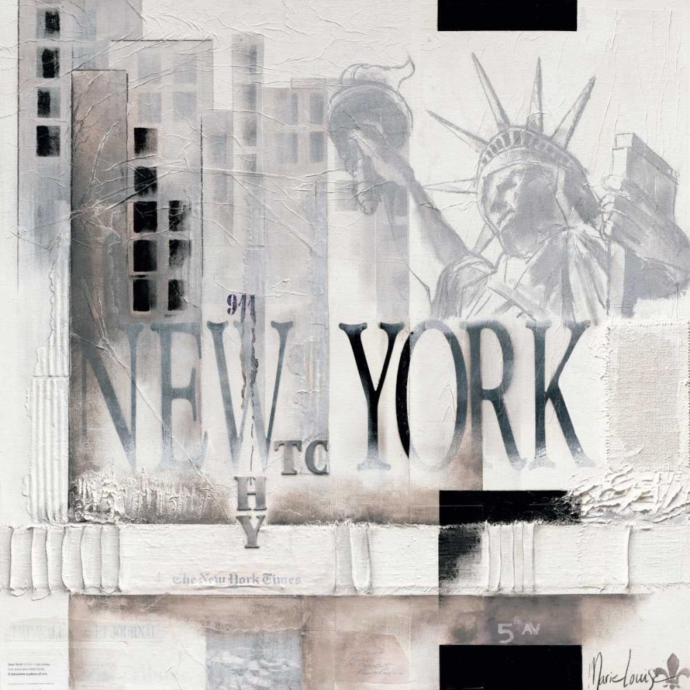 konfigurieren des Kunstdrucks in Wunschgröße New York Why WTC von Oudkerk, Marie-Louise