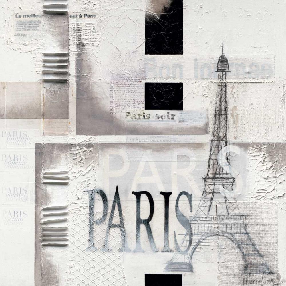 konfigurieren des Kunstdrucks in Wunschgröße Paris von Oudkerk, Marie-Louise