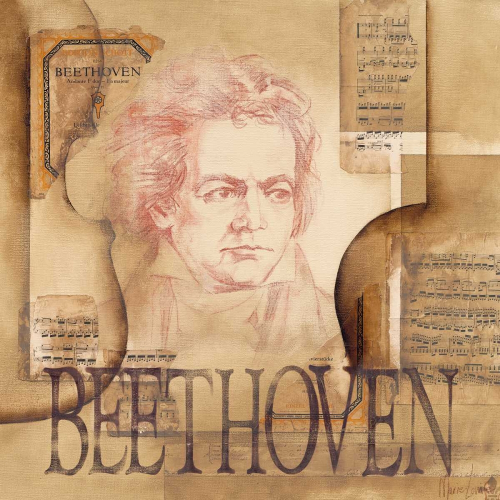 A tribute to Beethoven von Oudkerk, Marie-Louise <br> max. 135 x 135cm <br> Preis: ab 10€