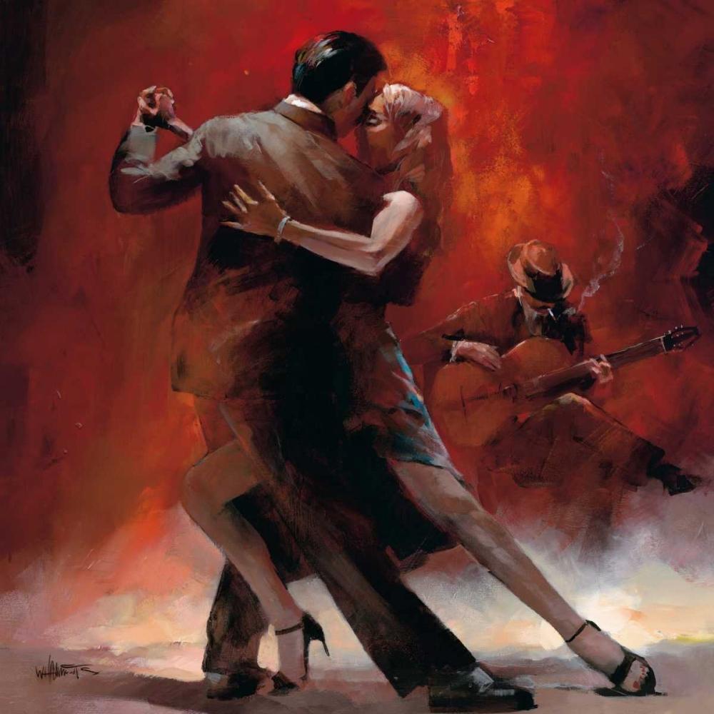 konfigurieren des Kunstdrucks in Wunschgröße Tango Argentino II von Haenraets, Willem