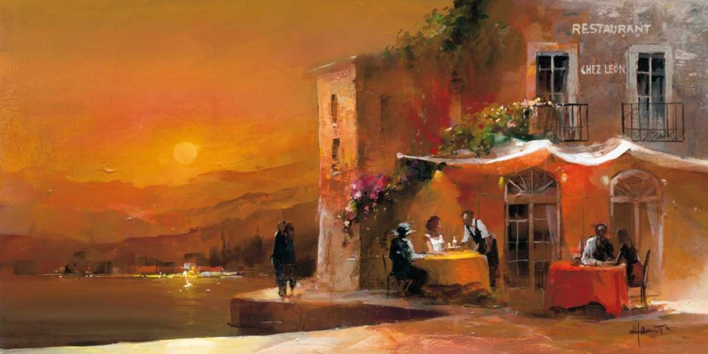 Dinner for two I von Haenraets, Willem <br> max. 191 x 94cm <br> Preis: ab 10€