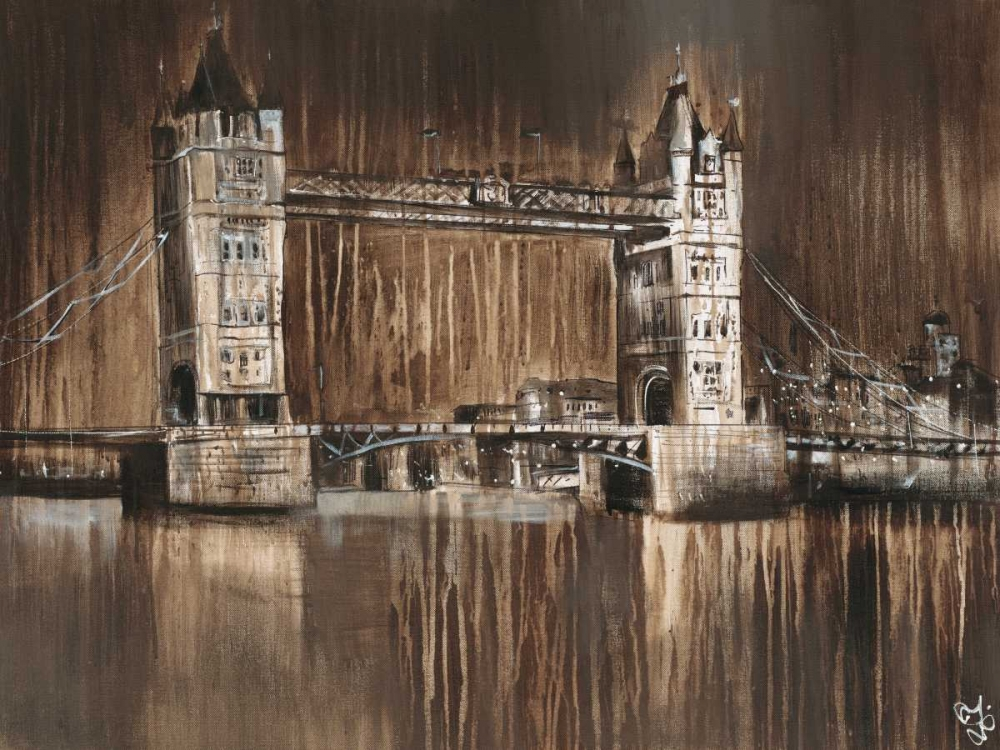 London Tower Bridge von Volynets, Yuliya <br> max. 155 x 117cm <br> Preis: ab 10€
