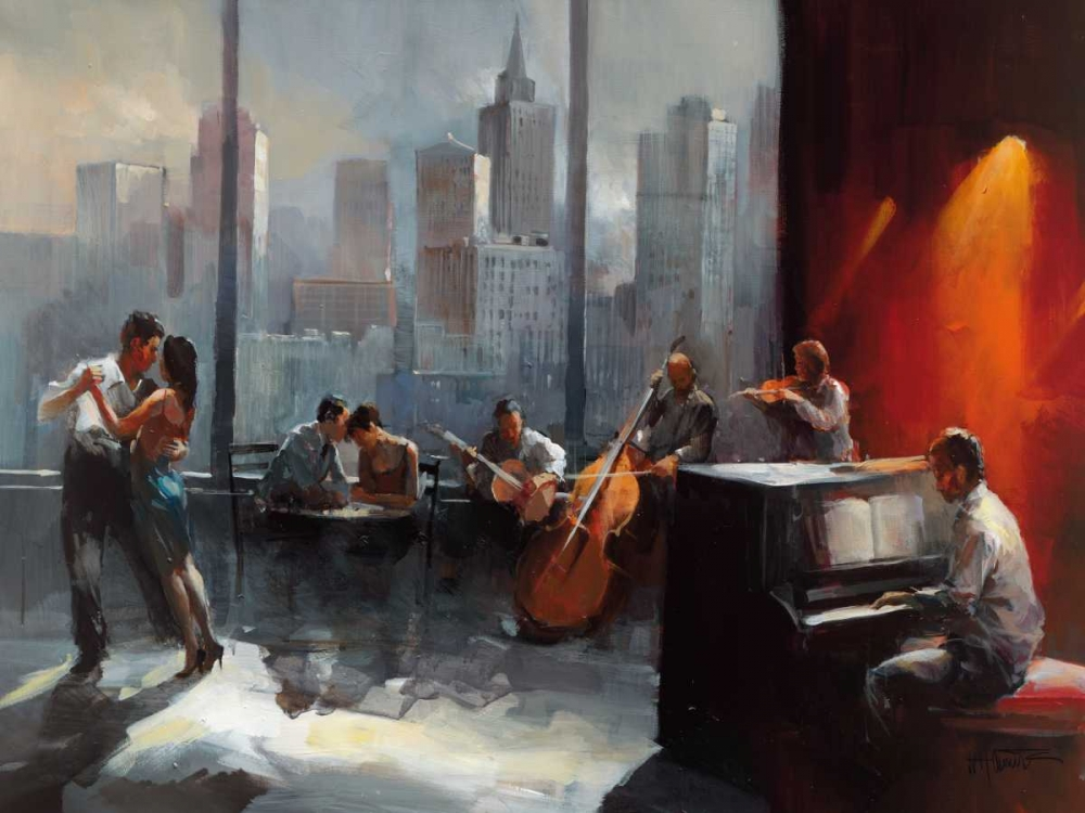 Room with a View I von Haenraets, Willem <br> max. 155 x 117cm <br> Preis: ab 10€